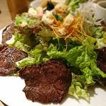 Brasserie MORI - ハラミステーキ&サラダ