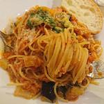 Brasserie MORI - ツナと夏野菜のトマトパスタ