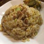 万世麺店 - セットのミニ炒飯