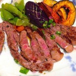 おかえりなさいほうづき - 料理写真:牛サーロインステーキ 柔らかくて美味しい