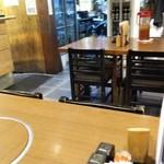 たきち - テーブル席