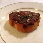 レストラン プティルッソ - 牛肉のリエット