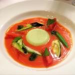 レストラン プティルッソ - スープ♡