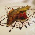 レストラン プティルッソ - 鮎のコンフィ