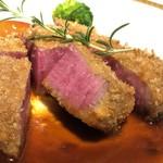 洋食 つばき - シャトーブリアンビーフカツ