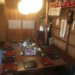 蕎麦彩膳 隆仙坊 - 隣の板敷きの部屋です。