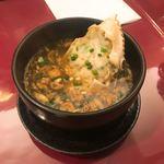 93998058 - ③蟹のスープ690円