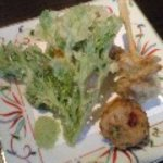 紅うさぎ - こんにゃくの天ぷら
