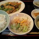 天福居 - ランチの定食
