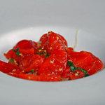 リストランテ・ヒロ チェントロ 丸ビル店 - フルーツトマトの冷製カカッペリーニ