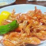 沖縄健康長寿料理 海人(うみんちゅ)成増店 - 川エビの唐揚げ的なもの