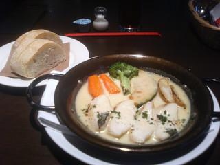 ベルマーレカフェ - カレイと野菜のポンファム