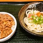 94001469 - ミニ牛丼セット_明太おろししょうゆ♪