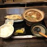 94001699 - 味噌煮込み定食  ¥1050/ ちくわ天 ¥180