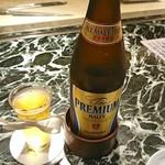 魚貝三昧 げん屋 - 瓶ビール  プレミアムモルツ