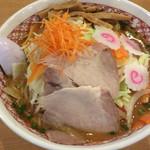 ラーメンめん丸 - 味噌野菜ラーメン 880円