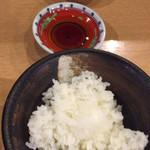 ラーメンめん丸 - 餃子3個セット 200円