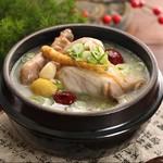 焼肉酒房 元 - サムゲタン(参鶏湯)