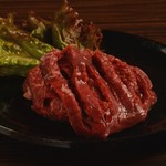 焼肉酒房 元 - 牛ハラミ一枚焼き