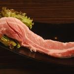 焼肉酒房 元 - 豚バラ(サムギョプサル)