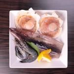 焼肉酒房 元 - 海鮮盛り