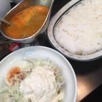 からゐ屋 - 料理写真:ラムカリー(中辛)