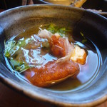 宮崎料理 万作 - 飫肥天の煮浸し