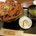 函館朝市豚丼ポルコ - 2011/09