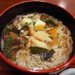 あ・ら・伊達なレストラン - ミニう米麺 お新香付('09/01訪問)