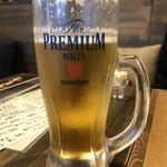 炭焼きソーセージ酒場 2KADO - ハッピータイムのメガビール