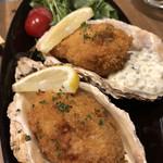 炭焼きソーセージ酒場 2KADO - 大粒の牡蠣フライ