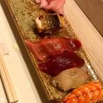 金井寿司 - お任せ5貫
