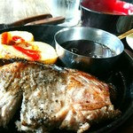 SAPPORO BONE - 炭焼き余市の麦豚ロースステーキ