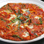 チーズタッカルビ&サムギョプサル韓国料理やさい畑 - キムチチヂミ