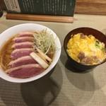 94017140 - 鴨コンフィ+鴨to葱の小親子丼