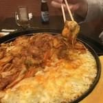 チーズタッカルビ&サムギョプサル韓国料理やさい畑 - チーズタッカルビ