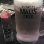 居酒屋のぶさん - 生ビール(発泡酒ではないとのこと)