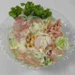 丸杓子 - 温泉卵のシーザーサラダ