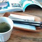 リエット カフェ - セットのスープ