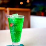 94023727 - 懐かしい彩のソーダ水。