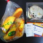 94024147 - 購入したパン。