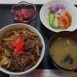 山菜料理のグランマ - 料理写真:牛丼