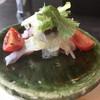 ろ - 料理写真:前菜、タコのマリネ