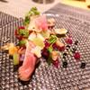 フラテッロ・ディ・ミクニ - 料理写真:滝川鴨と栗・マスカット・ビーツ・くるみ