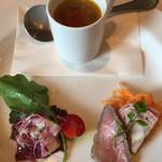 ベネレ - スープと前菜
