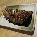 どさんこキッチン レトロなごりら - 黒みそハーブ豚串_220円×2