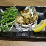 どさんこキッチン レトロなごりら - 活アワビバター焼き_980円