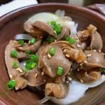 ぶる - 砂ずり梅ポン酢