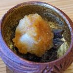 柚木元 - 香茸のお浸し