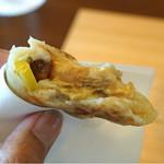 柚木元 - 松茸のおやき